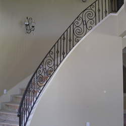 Iron Stair Railings Sacramento