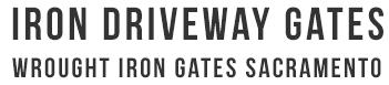 Iron Driveway Gates and Wrought Iron Driveway Gates